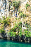 Bungy jump in Taupo New Zealand Royalty Free Stock Image
