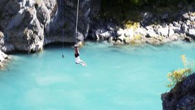 Bungy jump Stock Photo