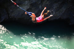 Bungy Jumping royalty free stock image