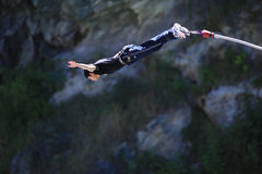 Bungy Jumping Royalty Free Stock Images