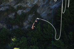 Bungy Jumping Royalty Free Stock Photo