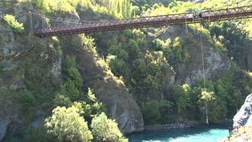 Bungy jumping in Queenstown,New Zealand