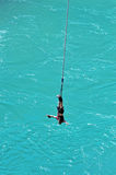 Bungy Jumping, Queenstown, NZ Royalty Free Stock Images