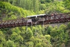 Bungy. At Kawarau Bridge, New Zealand Royalty Free Stock Photos