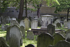 Bunhill Fields Burial Grounds Stock Image