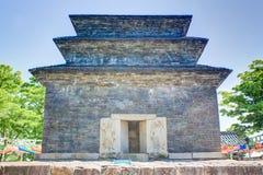 Bunhwangsa Pagoda temple Stock Image