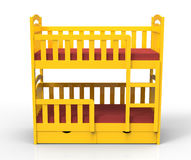 Bunk bed Royalty Free Stock Photos