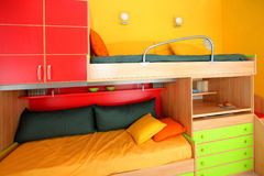 Bunk bed Royalty Free Stock Photo