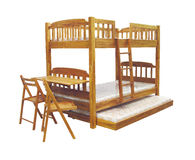 Bunk bed Royalty Free Stock Photography