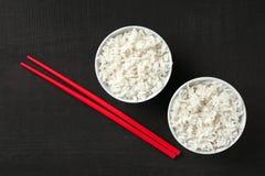 Bunkar av ris och pinnar Fotografering för Bildbyråer