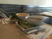 Bunkar av soppa Arkivbilder
