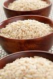 Bunkar för Basmati rice arkivfoto