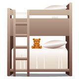 Bunkbeds Royalty Free Stock Photo