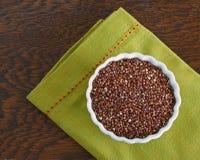 Bunke av den röda quinoaen Fotografering för Bildbyråer