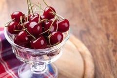 Bunke av det nya Cherryet arkivbild