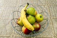 Bunke av frukt Arkivfoto