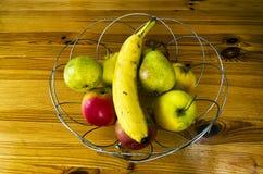 Bunke av frukt Royaltyfri Foto
