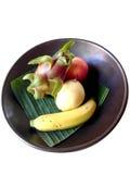 Bunke av frukter Arkivbild