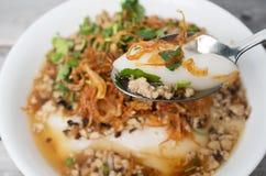 Bunke av nordliga limaktiga ris för vietnames non royaltyfri foto