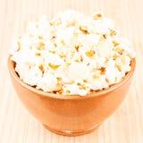 Bunke av popcorn Royaltyfri Foto