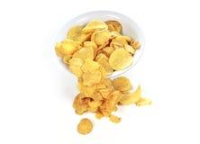 Bunke av potatischiper Royaltyfria Bilder