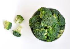 Bunke av rå broccoligroddar Royaltyfria Bilder