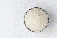 Bunke av rice Arkivfoto