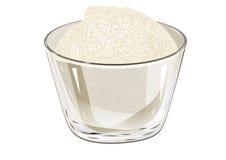 Bunke av socker Arkivbilder