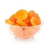 Bunke av torkade aprikosar Royaltyfria Bilder