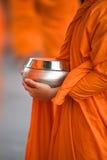 Bunke för allmosa för munk` s Royaltyfri Foto