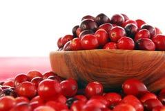 bunkecranberries Royaltyfria Foton