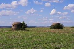 bunker Royaltyfria Foton