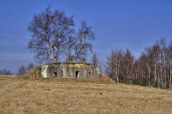 Bunker Royalty-vrije Stock Afbeelding