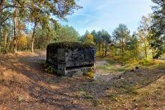 bunker Stock Afbeelding