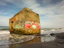bunker lizenzfreie stockfotografie