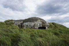 bunker royaltyfri bild