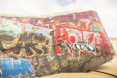 bunker Arkivbild