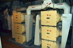 Bunker av Satan för lanseringslag SS-18 Arkivbild