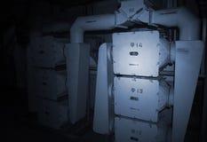 Bunker av Satan för lanseringslag SS-18 Arkivbilder