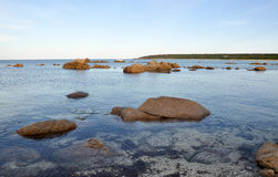 Bunker Bay: Granite and Reef royalty free stock images