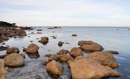 Bunker Bay: Granite Seascape Royalty Free Stock Photography