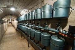 Bunker in Bosnia Stock Photo