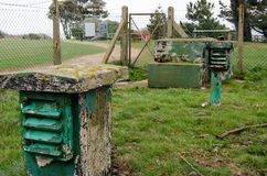 Bunker della guerra fredda, parco di Lepe, Hampshire Fotografia Stock Libera da Diritti