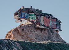 Bunker dello scorrevole del ` s del diavolo vicino a San Francisco immagine stock libera da diritti