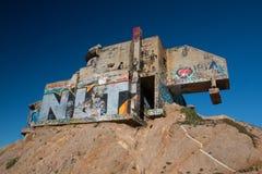 Bunker dello scorrevole del ` s del diavolo vicino a San Francisco immagine stock