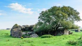 Bunker för världskrig II Arkivfoto