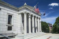 Bunker Hill-Häuschen Lizenzfreies Stockfoto