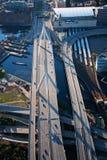 Bunker Hill Memorial Bridge  Royalty Free Stock Image