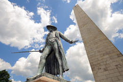 Bunker Hill Monument Royalty Free Stock Photo