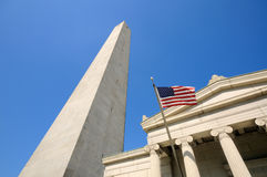 Bunker Hill Monument Royalty Free Stock Image